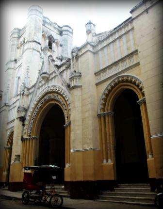 """""""Church Of Our Lady Of Charity"""" Entrance Photo: J-E. Urioste"""