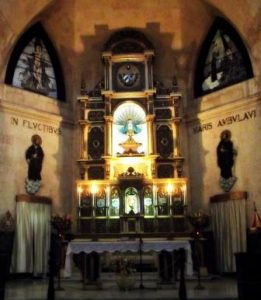 """""""Church Of Our Lady Of Charity"""" Altar Photo: J-E. Urioste"""