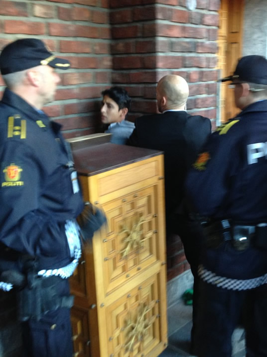 Cortez in custody (Photo: CNN)