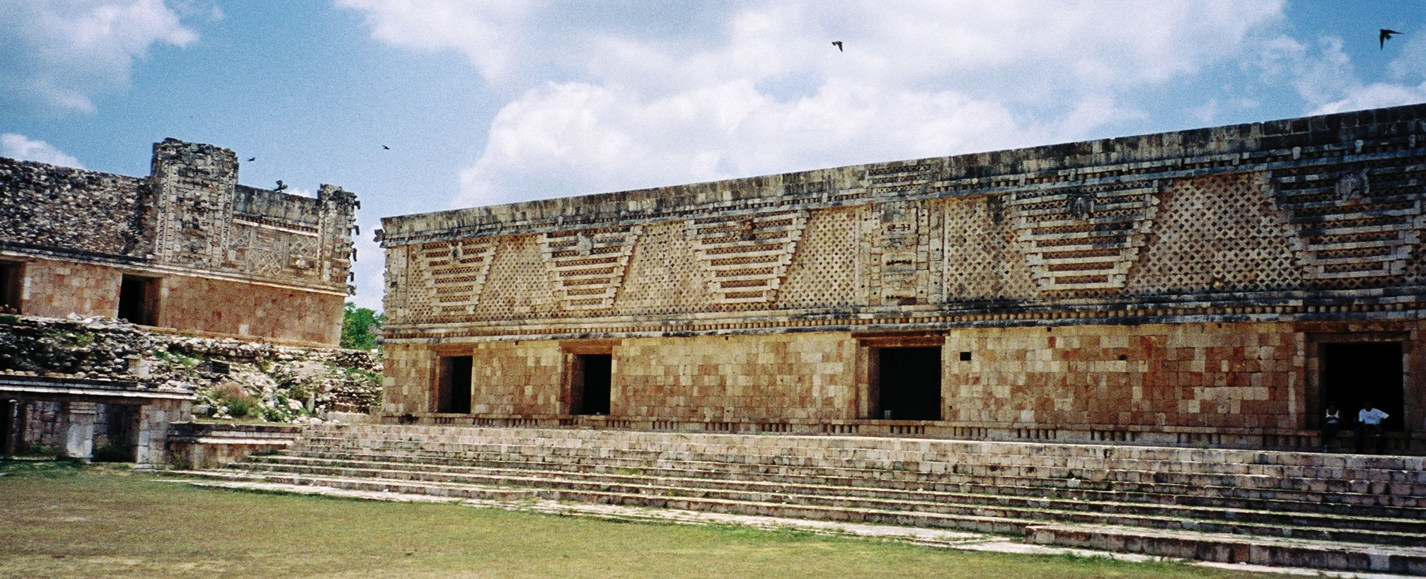 Yucatan, Uxmal, Archeological zone, Nunnery Quadrangle, East Building - Photo by German Murillo-Echavarria 0405