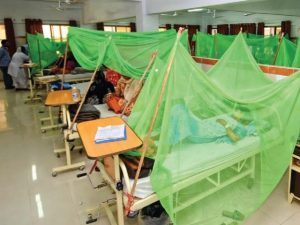 Special rooms set up for dengue patients at Nishtar Hospital Photo: tribune.com.pk
