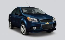 Chevrolet Aveo 1,118 units stolen
