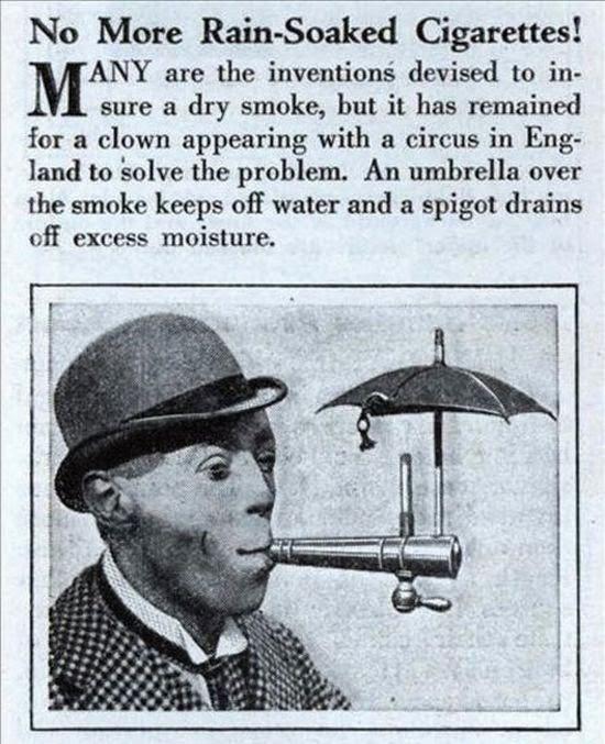 Cigarrete Umbrella