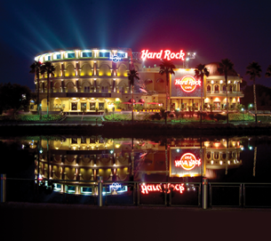 hard rock at night
