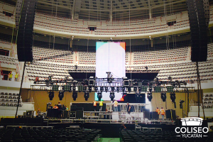 "The ""Coliseo"" was ready for the event, but apparently, Luis Miguel was not ready for the ""Coliseo"""