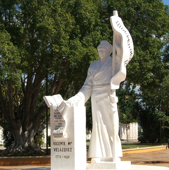 Monument to the Sanjuanistas, Mérida, Yucatán (Photo: Robert D. Temple)
