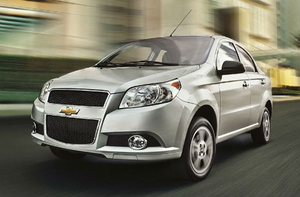 Made in Mexico Chevrolet Aveo