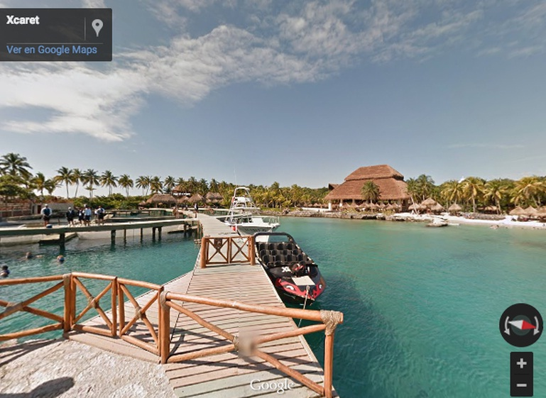Xcaret on Google Maps