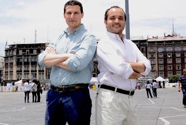 Sin Delantal founders Diego Ballesteros and Evaristo Babé (Photo: Mexico News Daily)