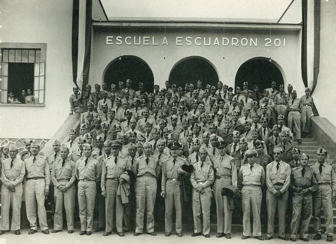 Mexican Air Force Squadron 201 in 1942 (Photo: Sipse)