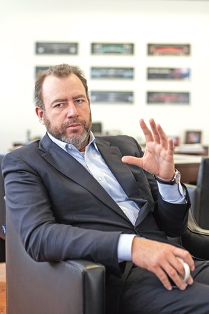 Dan Ammann said that the investments planned by General Motors will create more than 5,000 new jobs in Mexico. (Photo: GERMÁN ESPINOSA / EL UNIVERSAL )