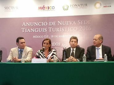 Next year, the Tourism Tianguis be held in the city of Guadalajara, announced the Tourism Secretary, Claudia Ruiz Massieu.