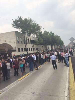 No damages were reported, according to Luis Felipe Puente, National Civil Protection Coordinator.. (Photo: Francisco Montaño/EL UNIVERSAL )