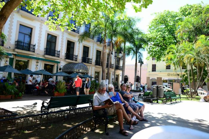 Parks in Merida's Centro are among its attractions. (File photo)