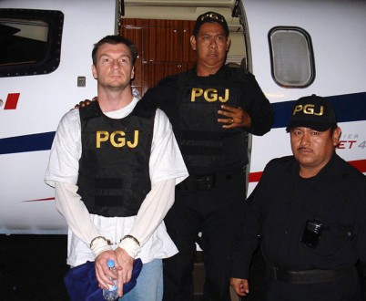 Bruce Beresford arrested by Mexican Law Enforcement.