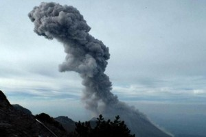 The volcano is growing due to its activity, according to the experts. (Photo: @PCJalisco )
