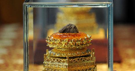 reliquias de Buda