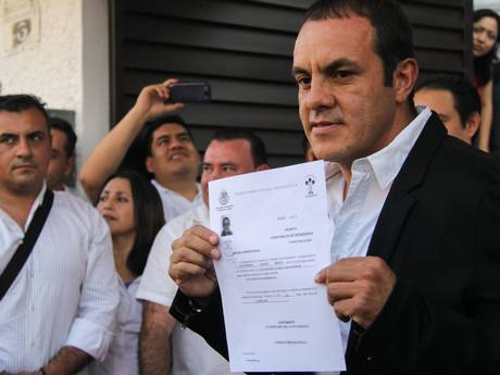 Football player Cuauhtemoc Blanco running for Mayor of Cuernavaca (Photo: Independent)