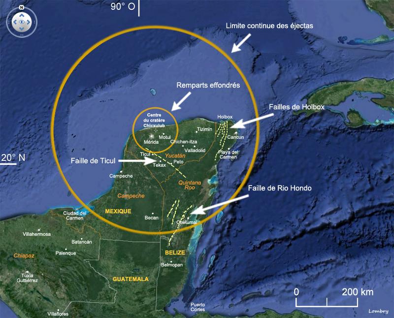 Yucatan Asteroid