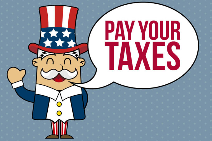how to pay us taxes from abroad