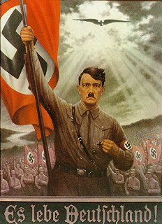 Nazi propaganda, created and devoped by Joseph Goebbels