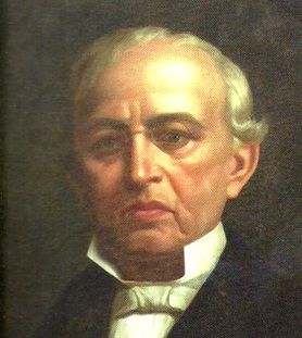 Santiago Méndez Ibarra First Governor (and effectively President) of the Republic of Yucatán Oil painting, artist unknown, Pinacoteca de Mérida