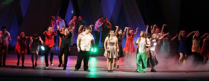 El reencuentro Musical de musicales (Photo: www.anahuacmayab.mx)