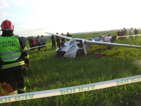Flying car crashed 2