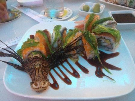 Scary-Dragon-Roll-from-Lionfish-at-E-Sushi-Shap-in-Aruba (Photo: