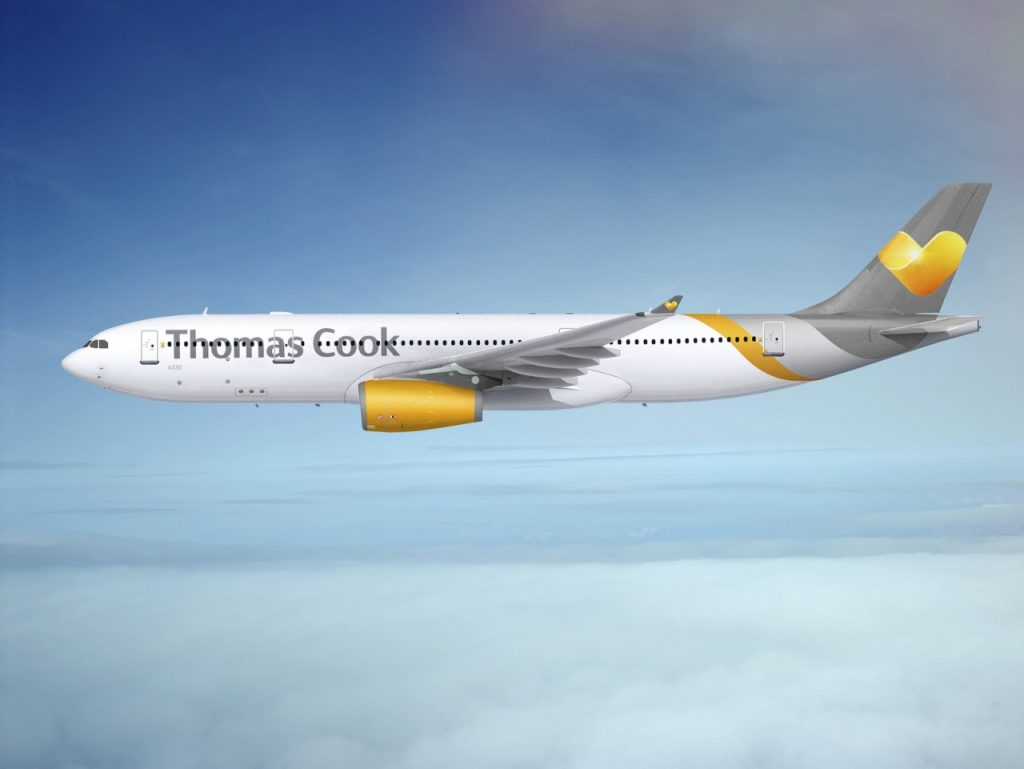 Thomas Cook Airlines A330 - (Photo: Skift.com)