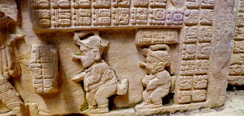 Aluxes carved on wall at Uxmal, Yucatán (Photo: en-yucatan.com.mx)
