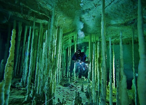 Cave Diving In Yucatan (Photo: Google)