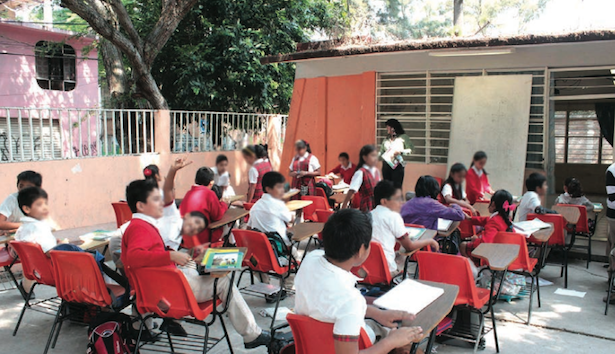 According to the 2015 Human Capital Report, students under 15 years old face low-quality education opportunities in Mexico. (Photo: CUARTOSCURO/JOSÉ HERNÁNDEZ)