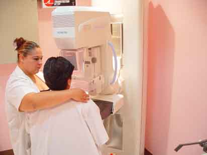 Mastography in Merida's Clinic (Photo: yucatan.com.mx)
