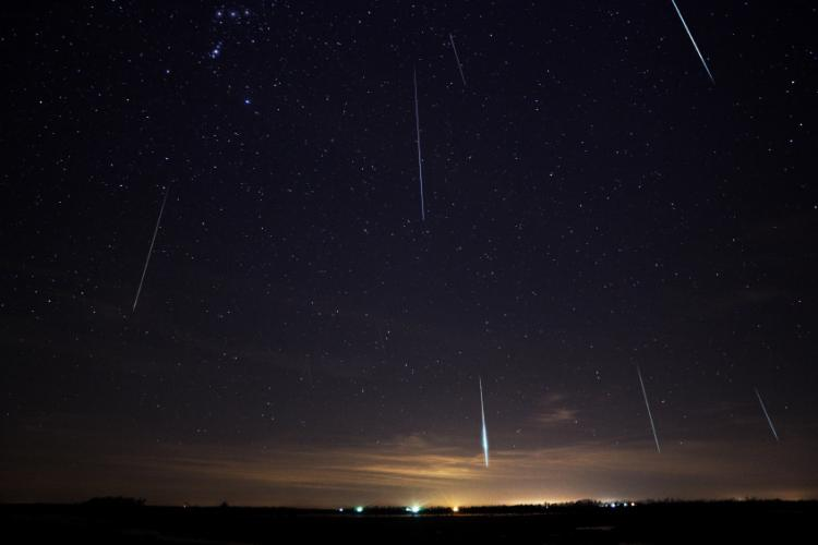 Meteor Shower Tonight In The Skies Of Yucatan The