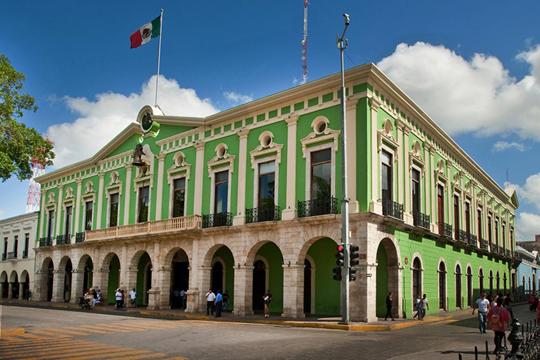 Palacio Municipal de Mérida, Yucatán (Photo: yucatan.gob.mx)