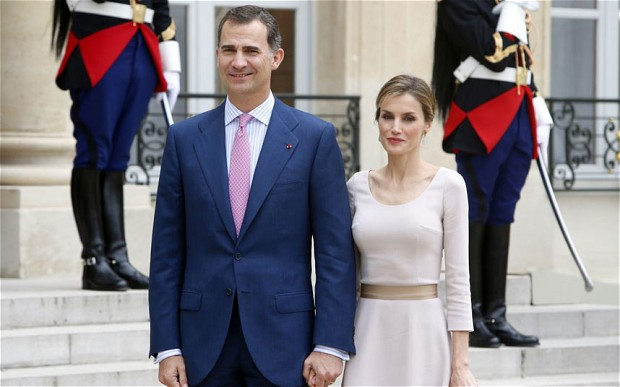 King Felipe VI and Queen Letizia confirmed they will tour Zacatecas (Photo: Telegraph UK)