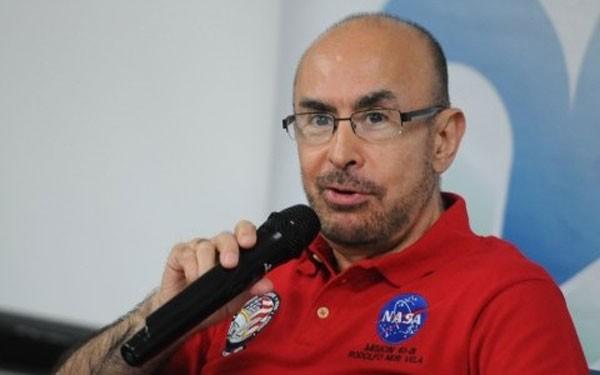 Neri Vela: first Mexican astronaut in space. (Photo: YAHIR CEBALLOS/AVC NOTICIAS)