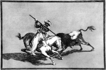 Tauromaquia de Goya (Google)