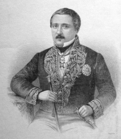 Miguel Barbachano y Tarrazo Lithograph, artist unknown, Wikimedia Commons