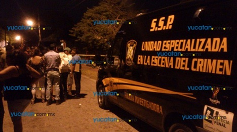 Crime Scene Investigation Vehicle (PHOTO: yucatan.com.mx)