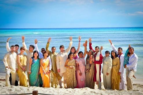 Hindy Wedding in Cancún (Google)