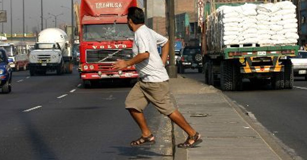 "Mexican ""Jay Walking"" Pedestrian (Google)"
