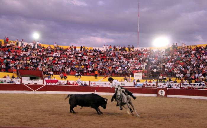 Pablo Hermoso de Mendoza at Plaza de Toros Merida (Google)