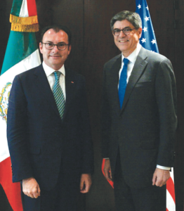 According to a SHCP spokesperson, the Mexican visit to France was historic. (Photo: NOTIMEX)
