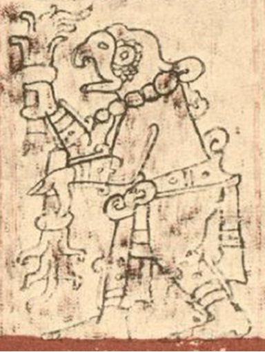 Kinich Kakmó, a parrot-headed god worshiped by the Maya on Cozumel (Ric Hajovsky)