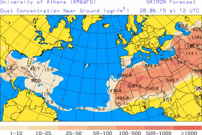 The trade winds are the prevailing pattern of easterly surface winds found in the tropics (Image: sipse)