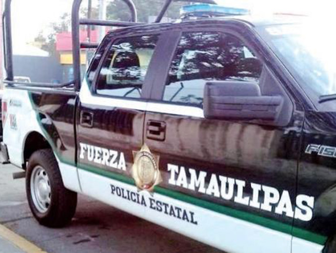 Fuerza Tamaulipas faced presumed criminals (Photo: Excelsior)