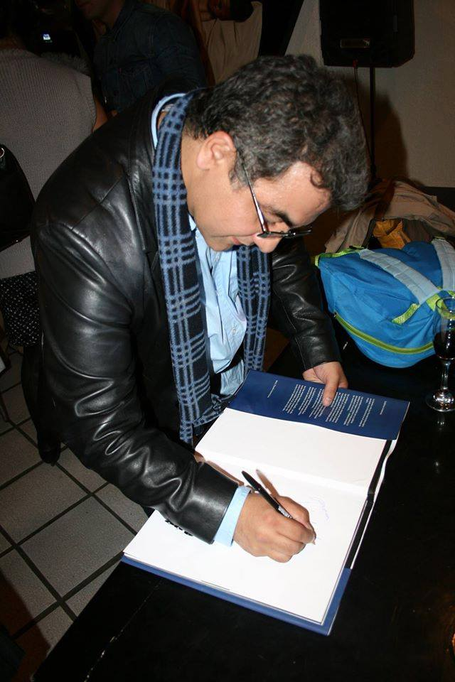 Marco Zamudio book signing