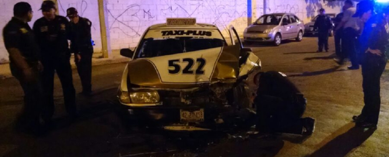The incident occurred at 2.30 am on Avenida Merida 2000 (Photo: Megamedia)